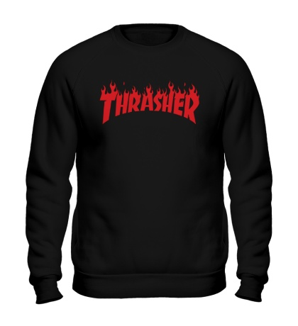 Свитшот Thrasher fire
