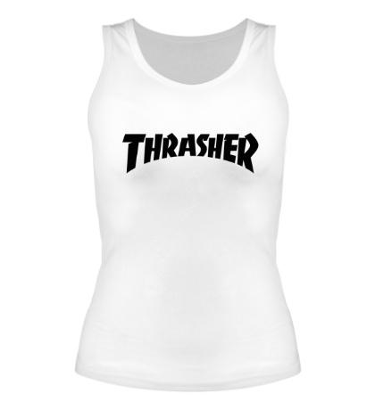 Женская майка Thrasher skate life
