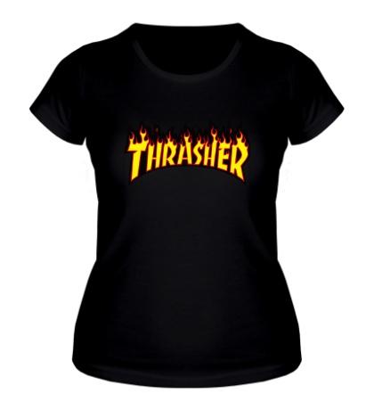 Женская футболка Thrasher Flame