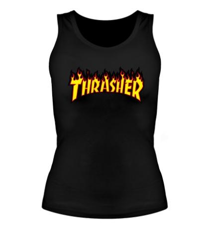 Женская майка Thrasher Flame
