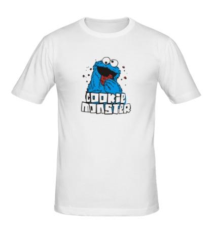 Мужская футболка Cookie Monster