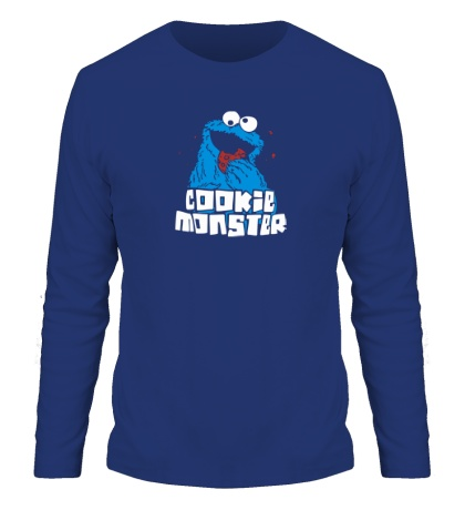 Мужской лонгслив Cookie Monster