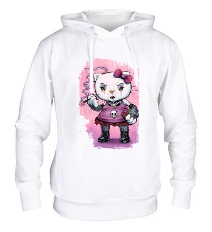 Толстовка с капюшоном Gothic Kitty