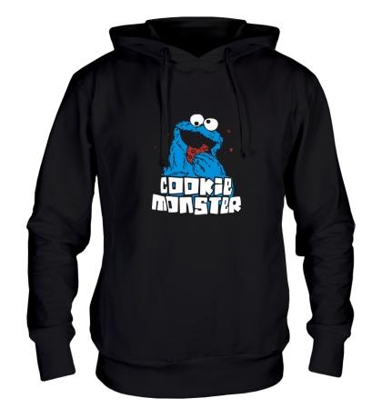 Толстовка с капюшоном Cookie Monster