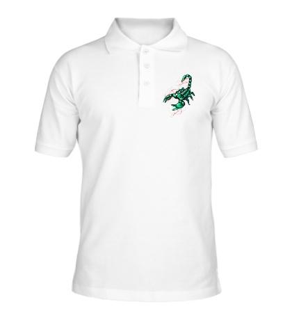Рубашка поло Изумрудный скорпион