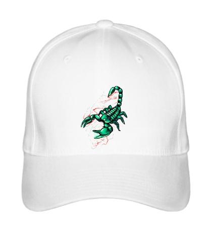 Бейсболка Изумрудный скорпион