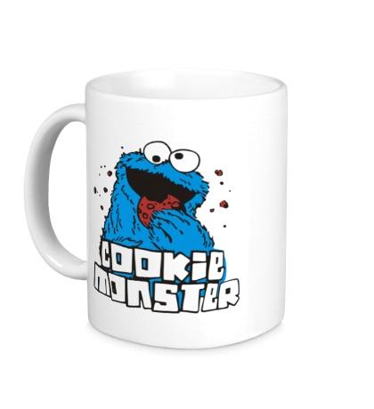 Керамическая кружка Cookie Monster