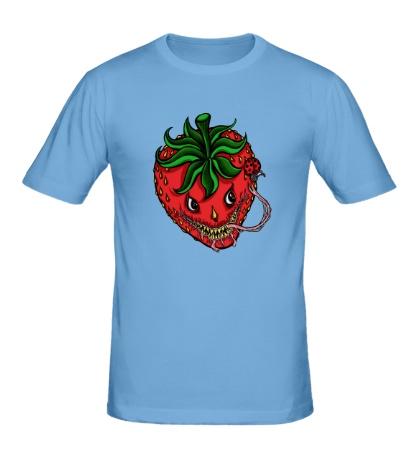 Мужская футболка Хищная клубника