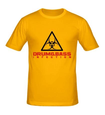 Мужская футболка Drum & Bass Infection