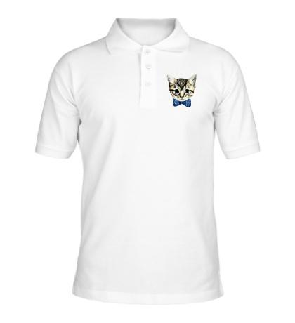 Рубашка поло Котенок-мальчик