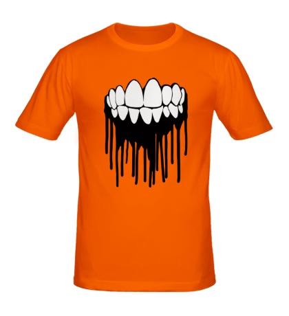 Мужская футболка Зубастая улыбка