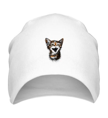 Шапка Кот-тигр
