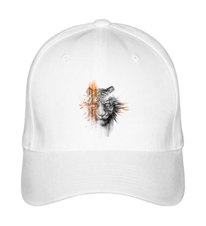 Бейсболка Полосатый тигр