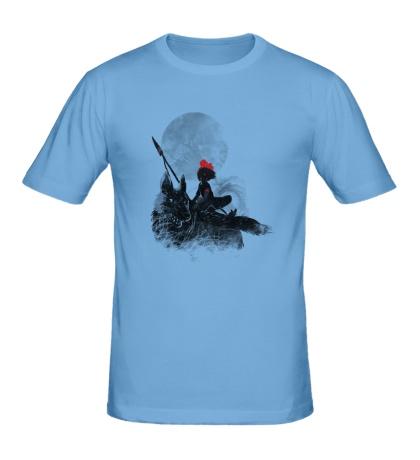 Мужская футболка Принцесса Мононоке