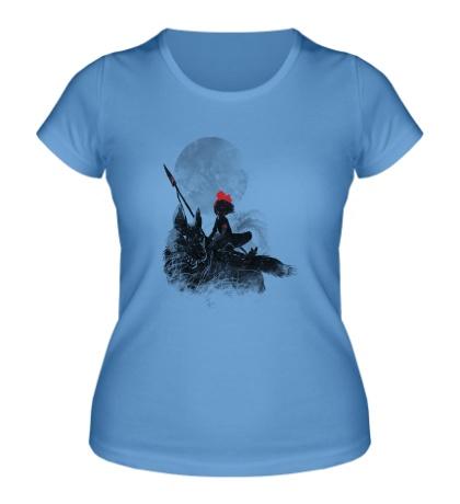 Женская футболка Принцесса Мононоке