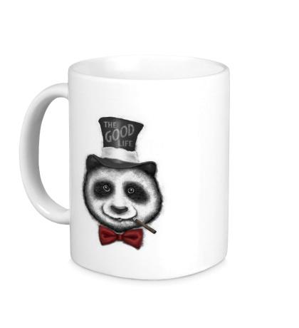Керамическая кружка Panda: The Good Life