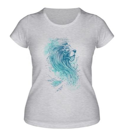 Женская футболка Морской лев