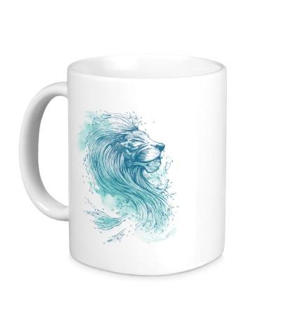 Керамическая кружка Морской лев