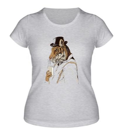 Женская футболка Clockwork Tiger