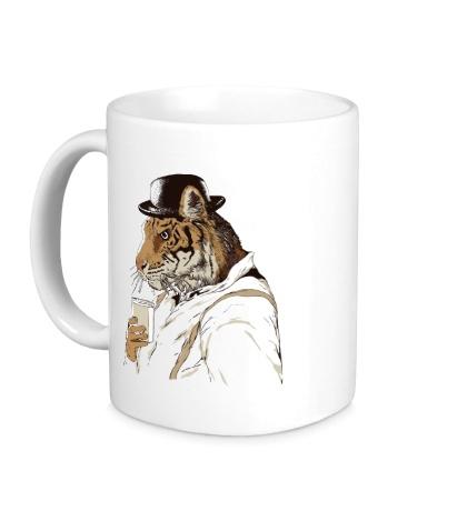 Керамическая кружка Clockwork Tiger