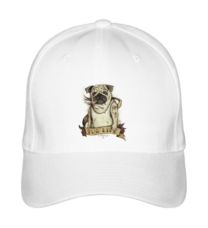 Бейсболка Pug Life