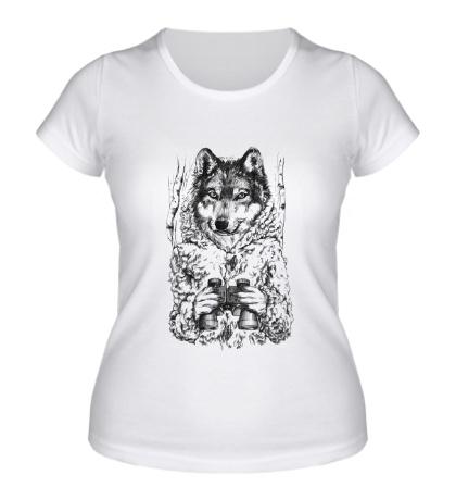 Женская футболка Охотник на овец