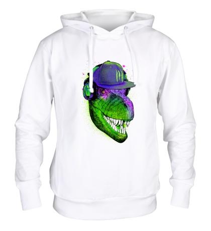 Толстовка с капюшоном Jurassic DJ