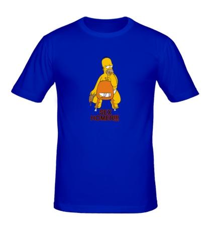 Мужская футболка Sex Homer