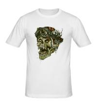 Мужская футболка Rider Skull