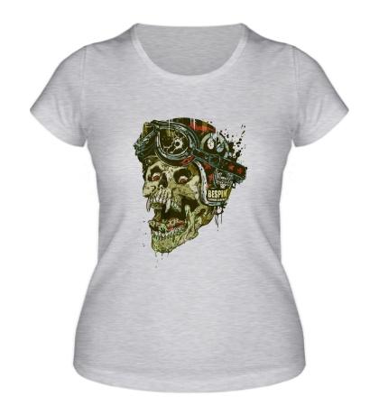 Женская футболка Rider Skull
