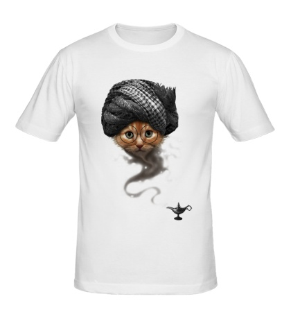Мужская футболка Кот-джин