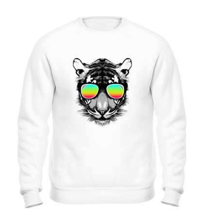 Свитшот Тигр в очках