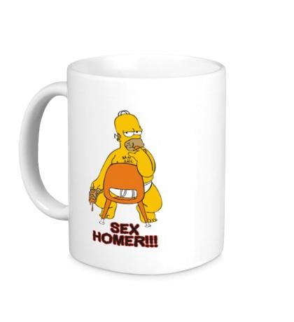 Керамическая кружка Sex Homer