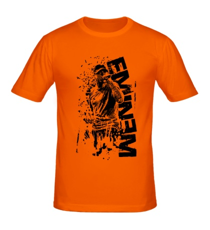 Мужская футболка Eminem Rap