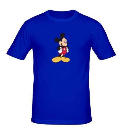 Мужская футболка Милый Микки Маус