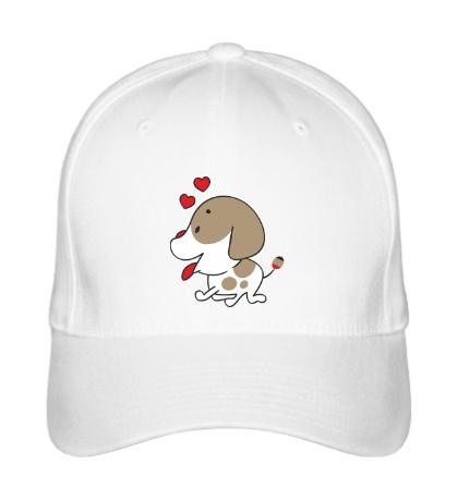 Бейсболка Влюблённая собачка