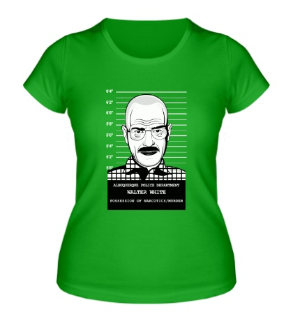 Женская футболка Wanted Walter White