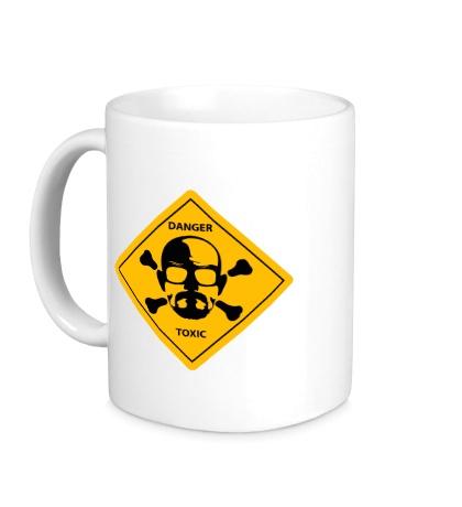 Керамическая кружка Danger Toxic