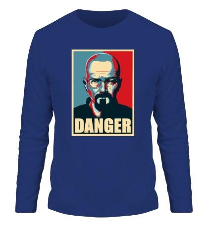 Мужской лонгслив Danger Heisenberg