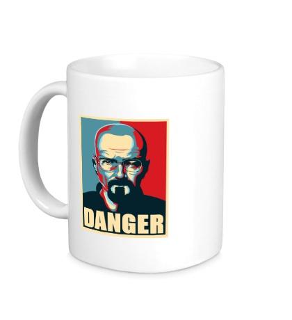 Керамическая кружка Danger Heisenberg