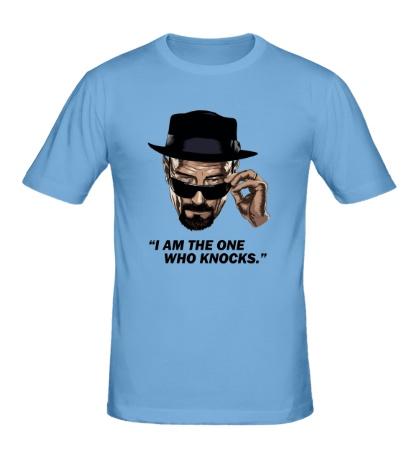 Мужская футболка The One Who Knocks