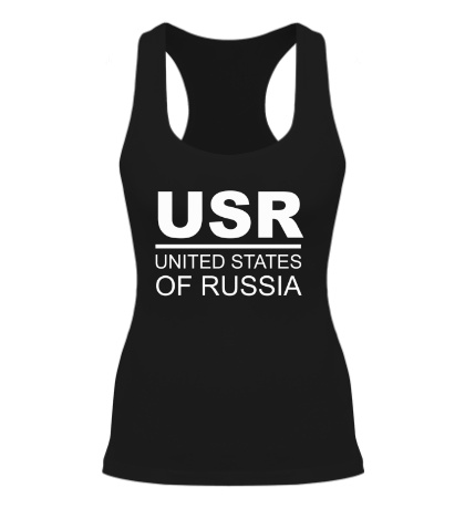 Женская борцовка United States of Russia