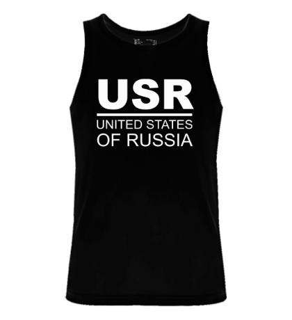 Мужская майка United States of Russia
