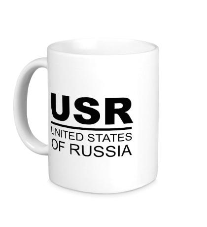 Керамическая кружка United States of Russia