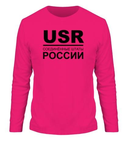 Мужской лонгслив Соединенные штаты России