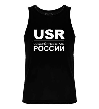 Мужская майка Соединенные штаты России