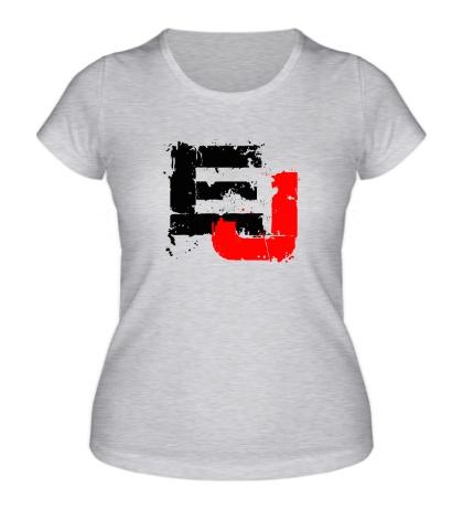 Женская футболка Eminem J