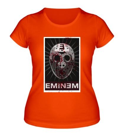 Женская футболка Eminem Mask