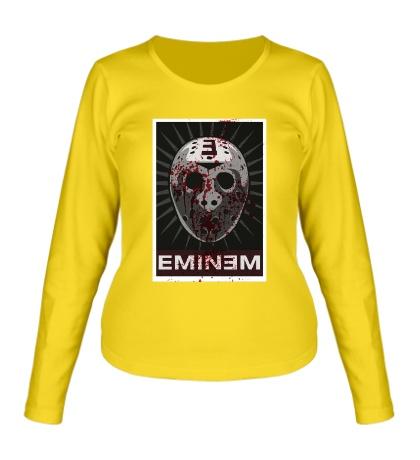 Женский лонгслив Eminem Mask