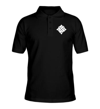 Рубашка поло ОУ74, эмблема